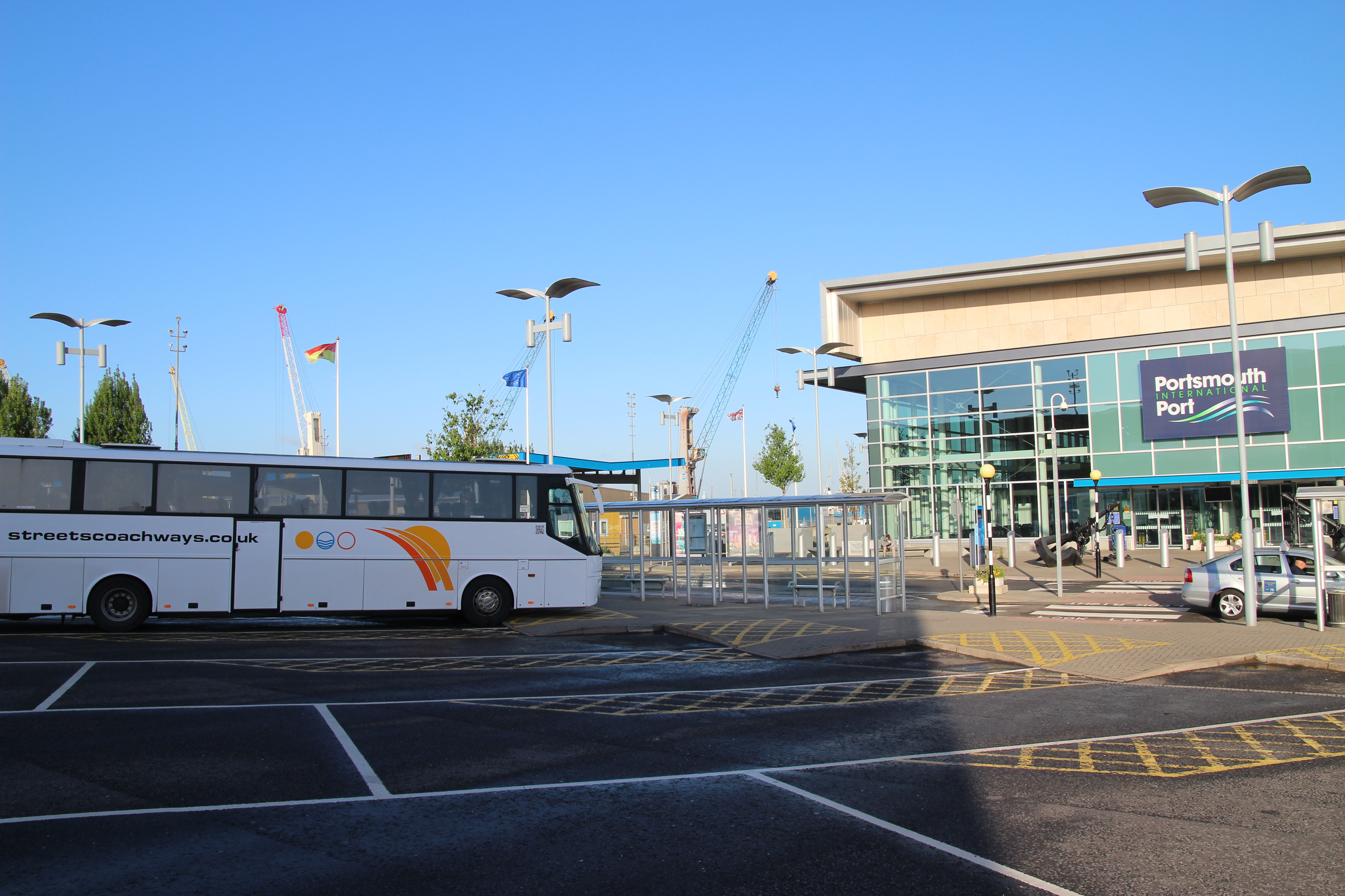 Seaport transfers by Coach