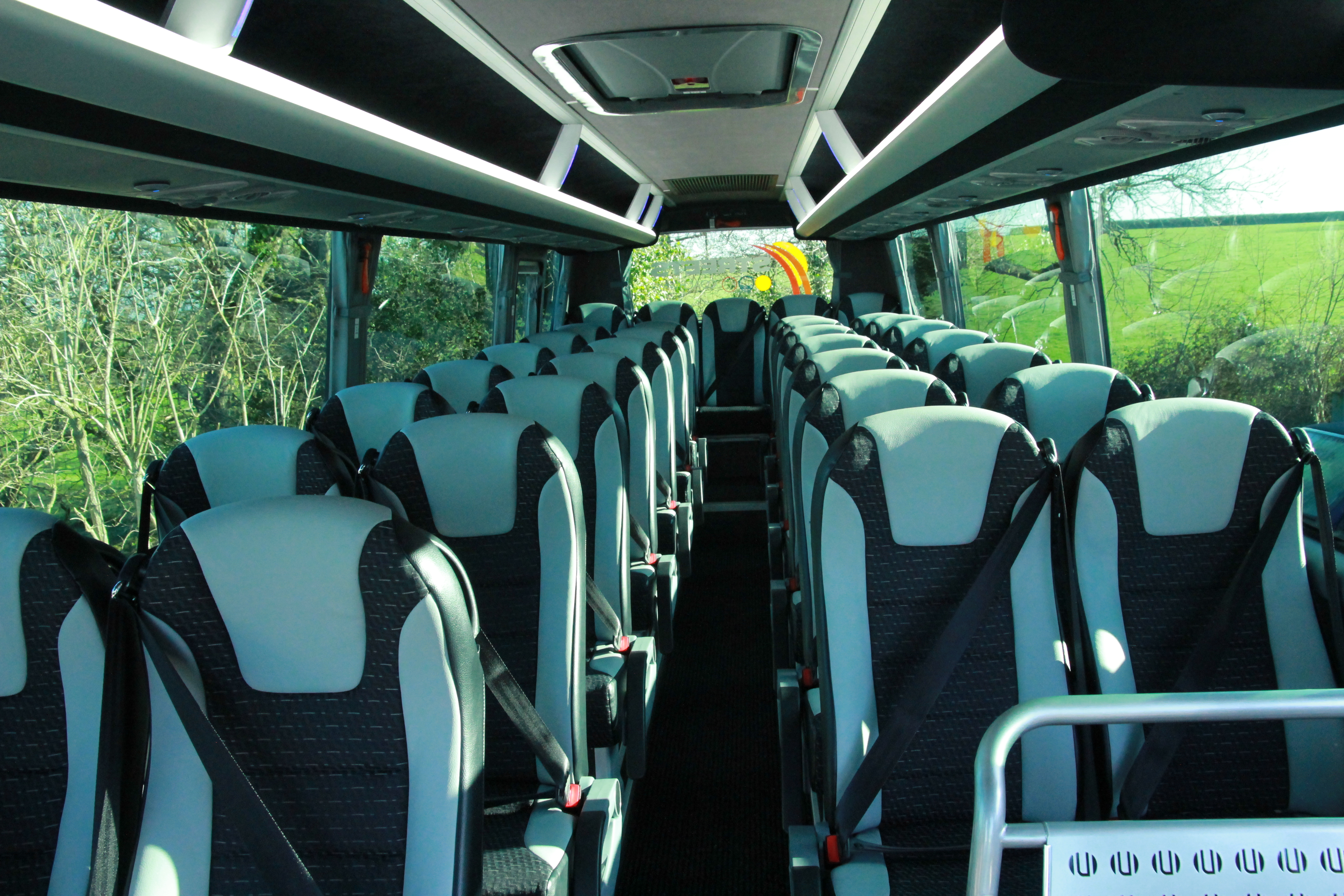 Streets Coachways Coach Interior