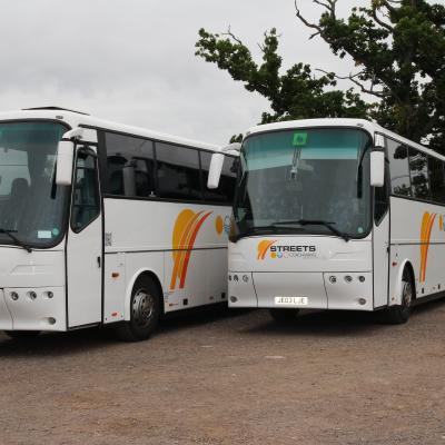 VDL Bova's Parked up